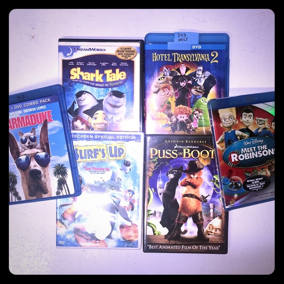 Other - ⭐️6 Kids Movies⭐️LOT OF 6⭐️